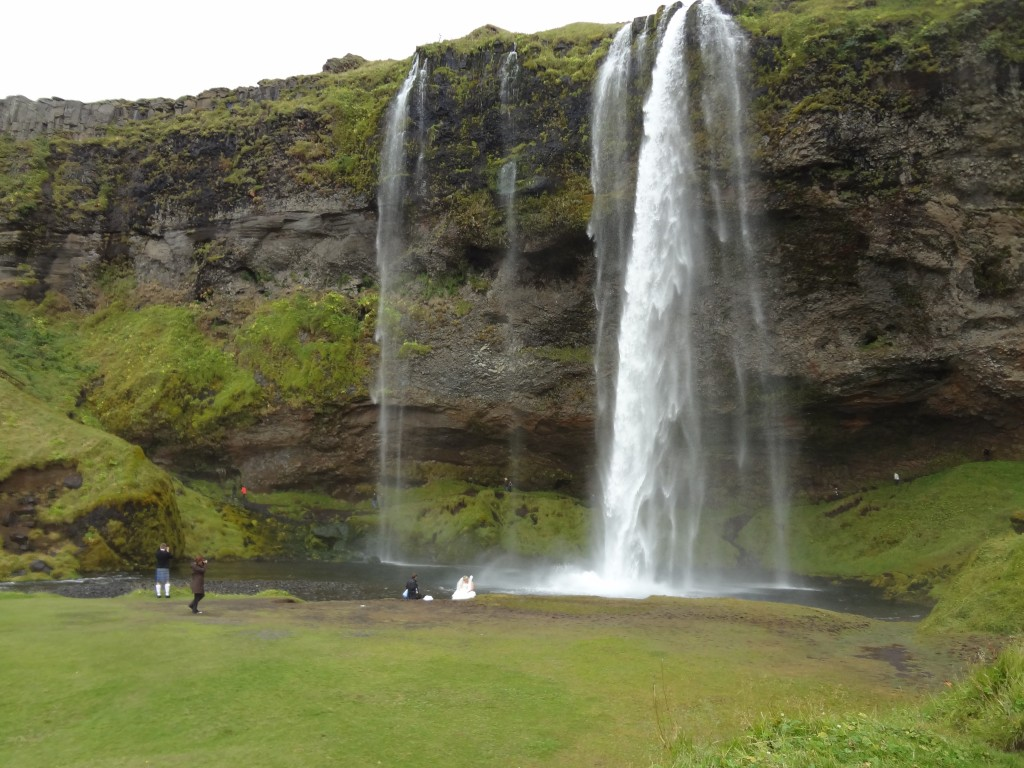 Seljalandsfoss waterfall along the Ring Road