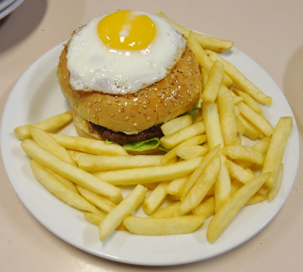 An authentic Icelandic Burger