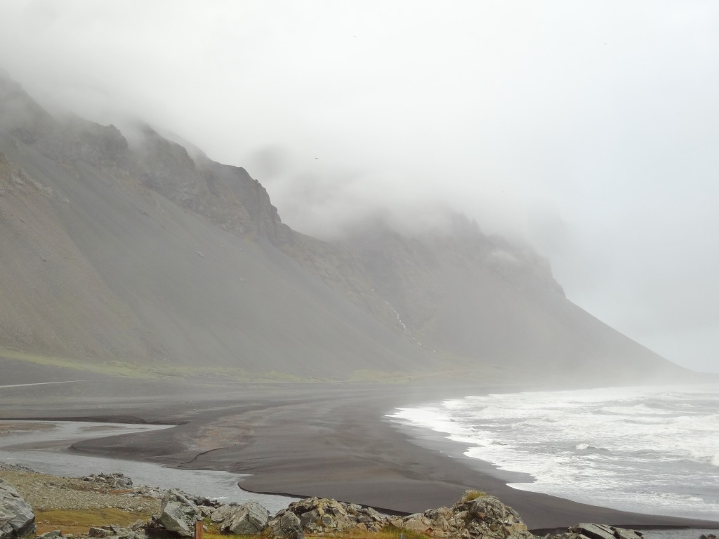 Black sand beaches in Iceland