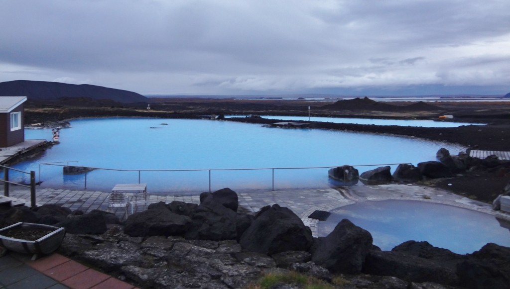 Mývatn's geothermal pools in Iceland