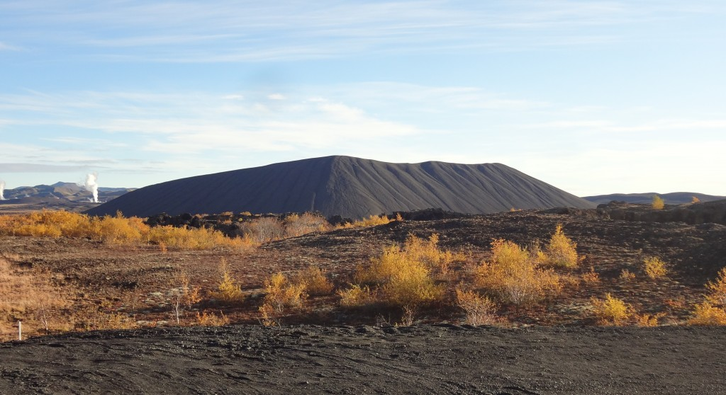 Hverfell crater