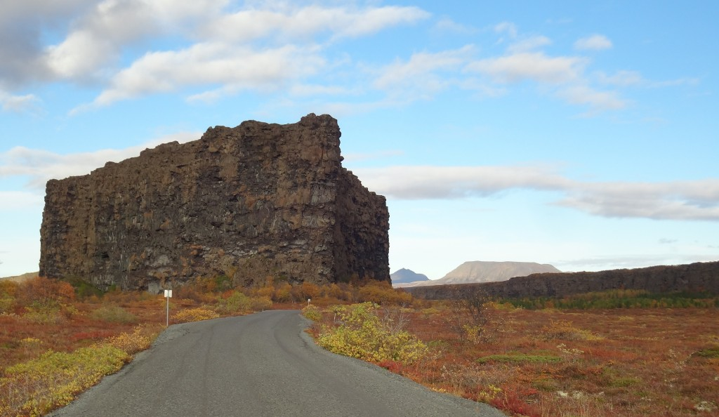 Scenery along the Ring Road Iceland