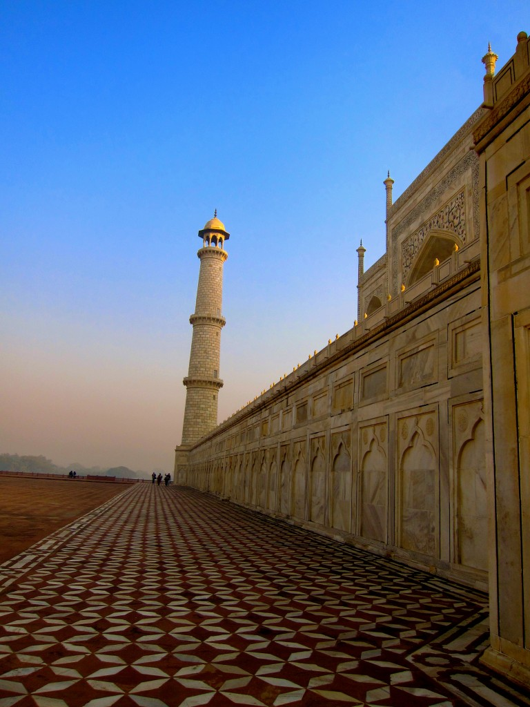 Backpacking in India - The Taj Mahal