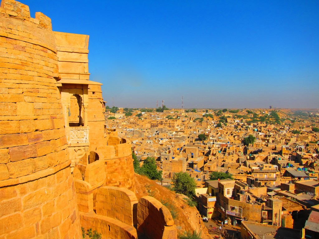 View from the Golden Fort over Jaisalmer