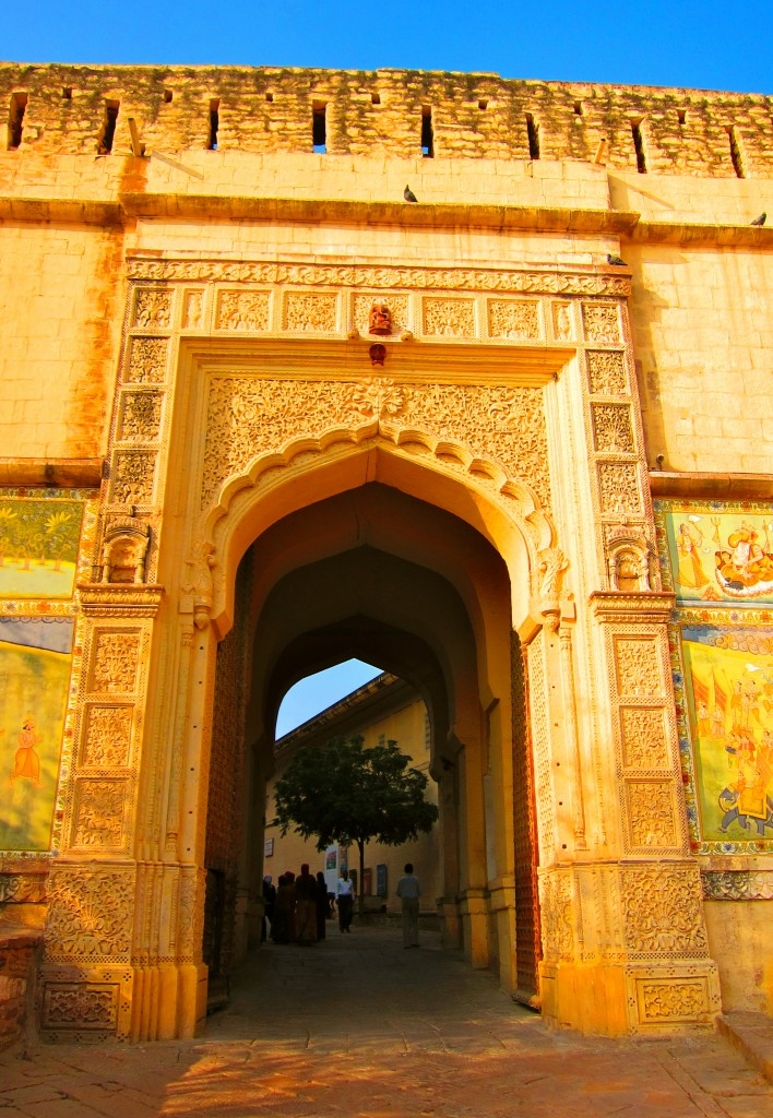 Entry into the Mehrangarh Fort