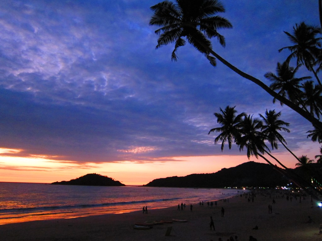 Sunset in Palolem