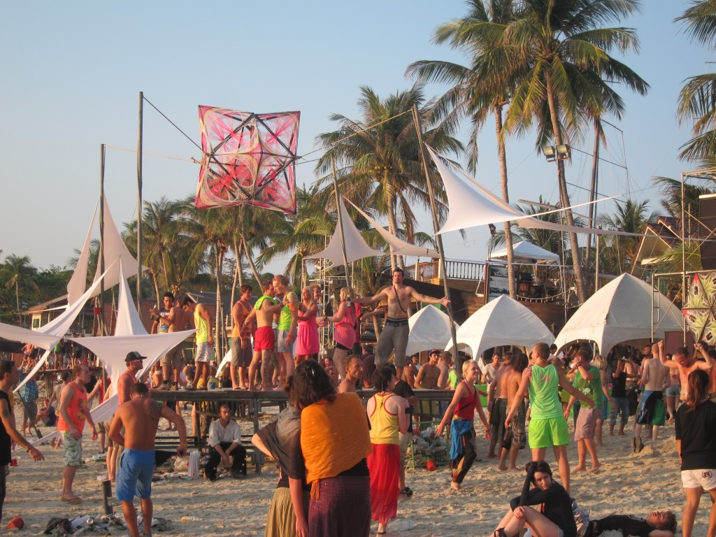Full Moon Party in Ko Phangan