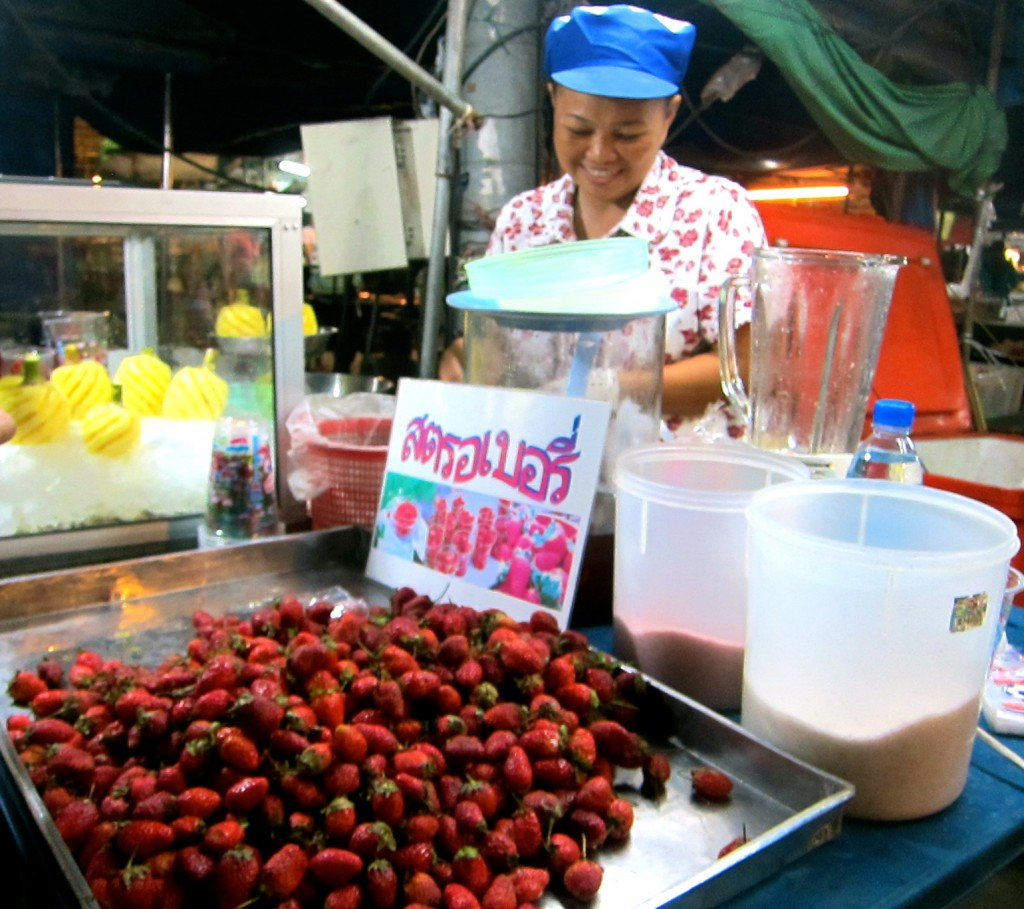 The Shake Lady in the Krabi Night Market