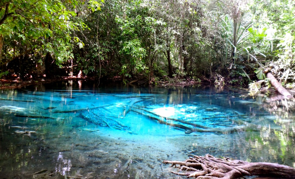 Blue Pool in Krabi Thailand