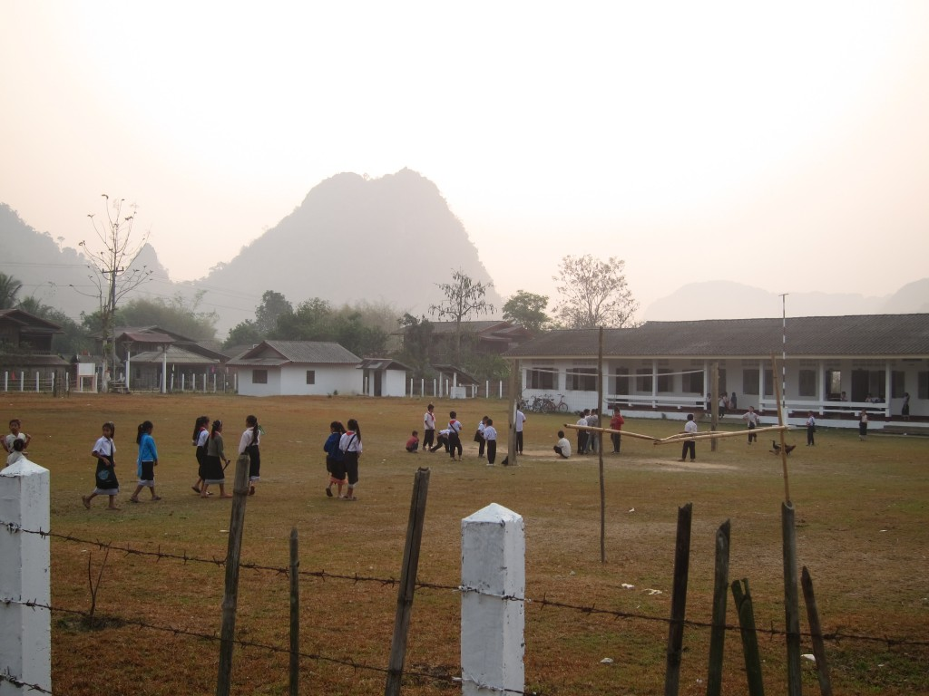 Volunteering at SAELAO in Nathong, Laos