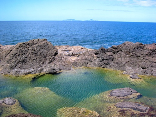 Free things to do in New Zealand - Mermaid Pool