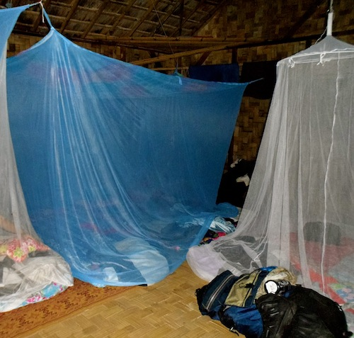 Mosquito Nets - Traveling in Southeast Asia